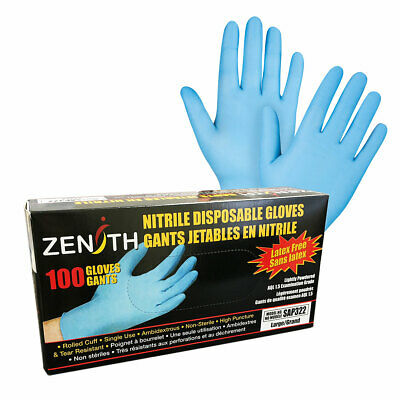Nitrile Examination Gloves, 100/box, New