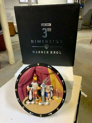 1997 WARNER BROS Speechless 3-D Limited Edition In The 3rd Dimension Plate W/box