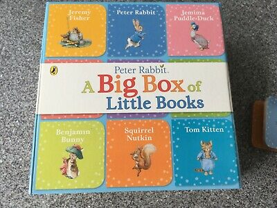 Excellent used condition 2 x big baby books (2 x 9 books)Peter rabbit & baby