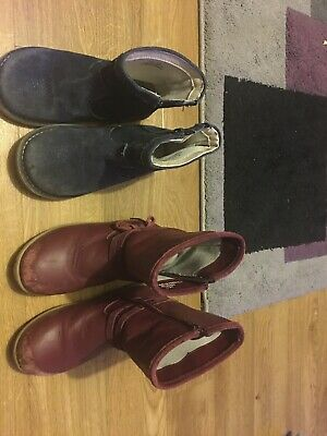 Two pairs Of Girls Size 11 Boots