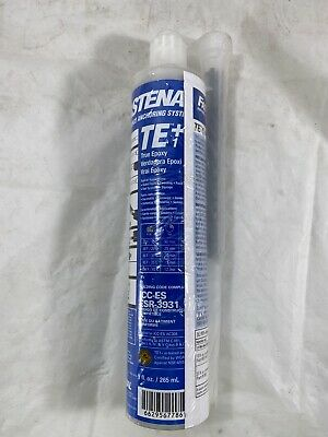 NEW Fastenal True Epoxy TE+1 Anchoring System Concrete Anchor Adhesive NOS