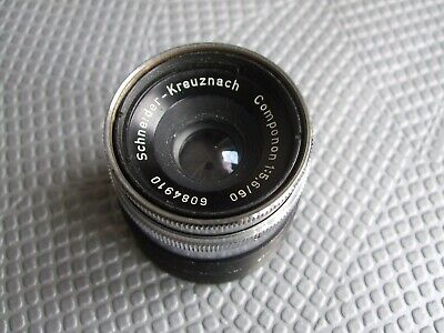 SCHNEIDER-KREUZNACH COMPONON 60mm f/5.6 ENLARGER LENS