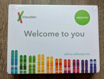 23andMe Ancestry & Traits DNA Saliva Kit - All Fees Included, No Extra Cost