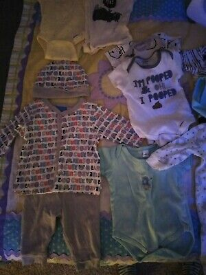 Baby boy clothes 0-3 months lot new