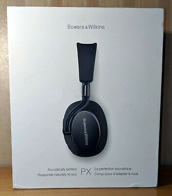 Bowers & Wilkins B&W PX Noise Cancelling Bluetooth Headphones (Space Grey)