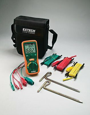 Extech 382252 Earth Ground Resistance Tester Kit - EXPORT DISTRIBUTOR