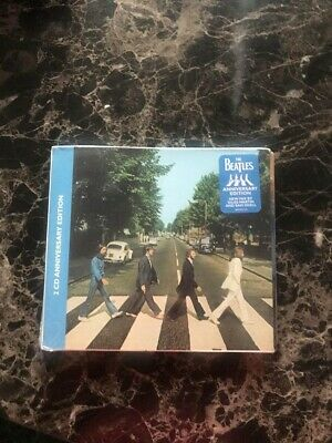 the beatles abbey road x2 cd anniversary edition factory sealed classic rock