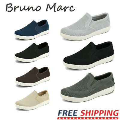 Bruno Marc Mens Casual Breathable Walking Shoes Slip On Loafer Shoes