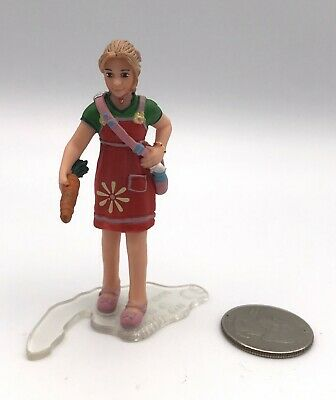 Schleich BLOND GIRL FEEDING CARROTS Figure 13905 Retired 2011