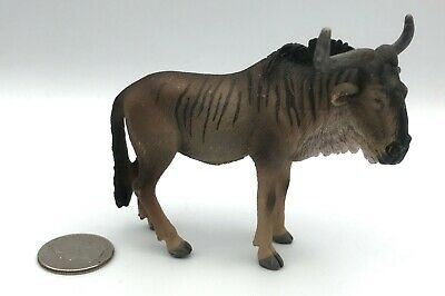 Schleich GNU Wildebeest Adult  Retired Animal figure 2008 RARE! 14386