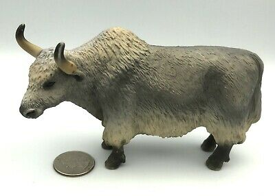Schleich YAK 2009 Wild Bovine Animal figure Retired 14616 Rare!