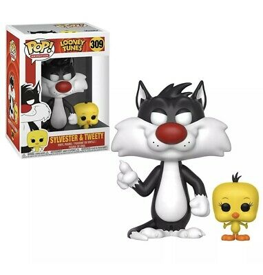 Funko - POP Animation: Looney Tunes - Sylvester and Tweety 309