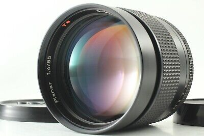 【NEAR MINT】 Carl Zeiss Planar 85mm f/1.4 T* AEG for Contax CY Mt. from JAPAN 831