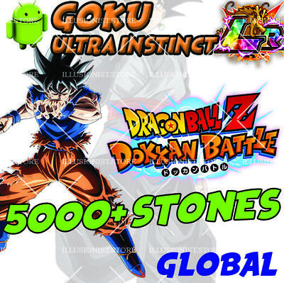 🌟 NEW Goku UI LR with 4500+ Stones FOR Dokkan Android APP Global 🌟Battle Stone