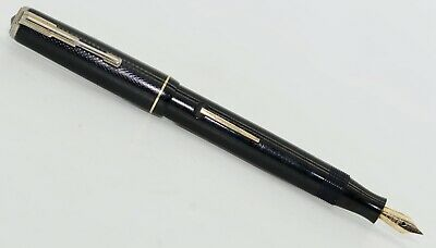 Vintage Working C1943 Curzons Strand Fountain Pen 14Ct Nib - Nice