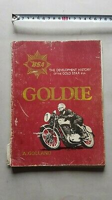 BSA Goldie (Gold Star) Golland - Haynes 1978 - libro no manuale
