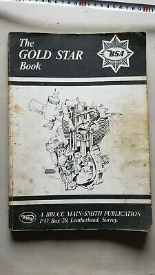 The BSA Gold Star Book (DBD 34) Main-Smith manuale officina workshop manual