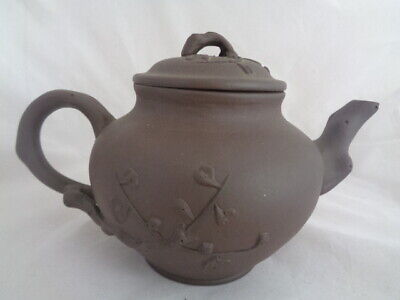 Vintage Small Yixing Teapot - Nice Condition Marked To Pot And Lid