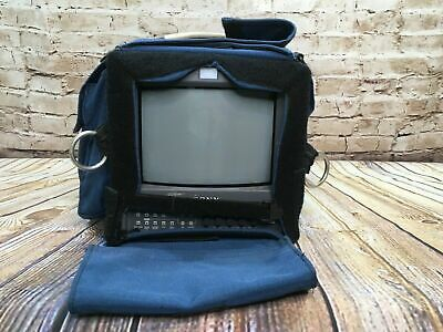 "Sony Trinitron 9"" Color Video Monitor PVM-9L2 w/ Carrying Case"