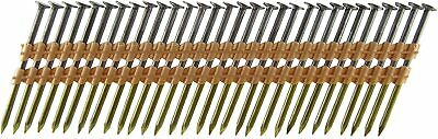 """500 -2-3/8"""" x .113 x 21 Degree Smooth Shank Plastic Collated Cement Coated Nails"""