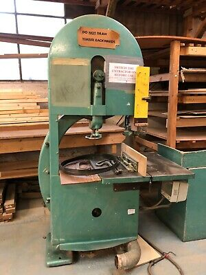 "Guilliet Woodworking Bandsaw 3 Phase fully braked 26"" cut"