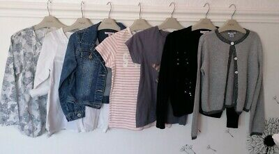 Girl Bundle 7-8/8 Years Next Bluezoo...VGC tops cardi denim jacket Spring/Summer