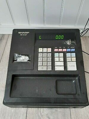 Sharp XE-A107 Electric Shop Till, Used