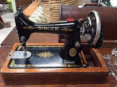 Antique Old Vintage Hand Crank  Singer Sewing Machine F6510724. Accessories. V23