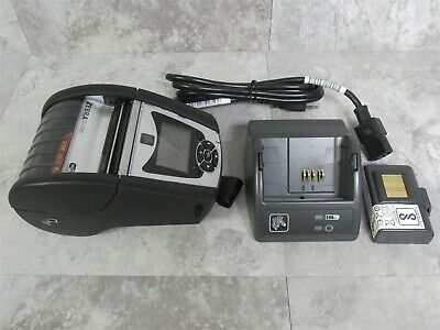 Zebra QLn320 Mobile Thermal Label Printer w/ Battery & Battery Charger
