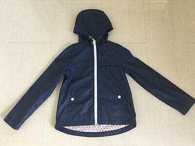 Michael Kors Girls Blue Coat/Rain Jacket - Age 10/12 Immaculate Condition