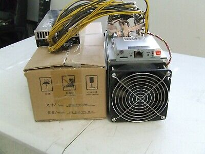Dragonmint B52 Blake2B 3.83TH 1.38KW miner with PSU 10 LOT FREE SHIPPING