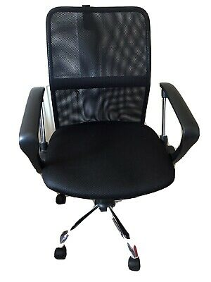 Office Essentials Mesh Height Adjustable Chair