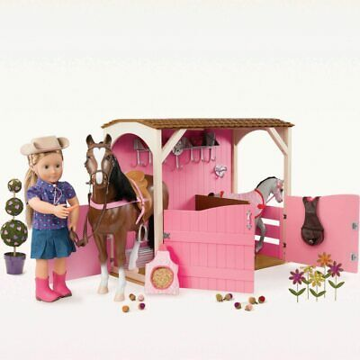 NEW Our Generation Horse Barn Playset Kids Children Toy