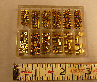 Tiny Box of Assorted Clock Bushings -BEST OFFER-