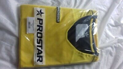 Brand new XXL yellow Prostar Goalkeepers shirt with padded elbows