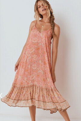 NWT Spell & The Gypsy Collective Seashell Strappy Dress, M