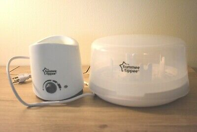 Tommee Tippee Bottle Warmer and Bottle Sterilizer Used Condition
