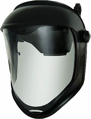 Uvex Bionic Face Shield with Hard Hat Adapter and Clear Polycarbonate Visor