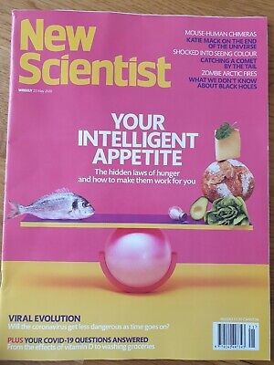 New scientist magazine 23rd May 2020