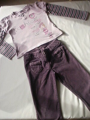 Girls trouser and top age 7 years