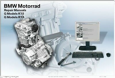 2006-2012 BMW G650 XChallenge XCountry XMoto RepROM Service Manual DVD - G650X