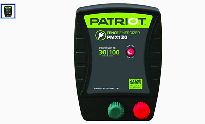 Patriot PMX 120 fence charger