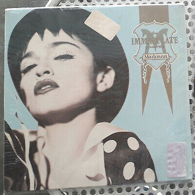 Madonna laserdisc The immaculate collection