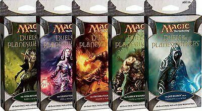 Duels of the Planeswalkers Intro Pack Set of Five SEALED BRAND NEW MTG ABUGames