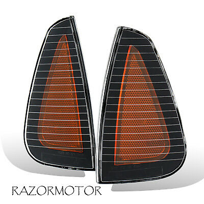 2006-2010 Replacement Corner Marker Side Signal Light Pair For Dodge Charger