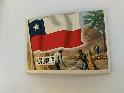 1956 Topps Flags Of The World Chile  #69