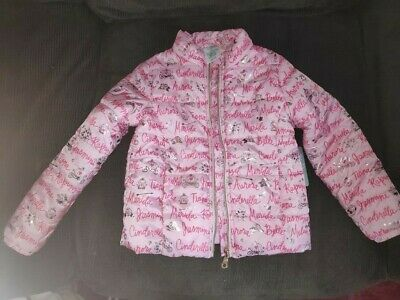 Disney princes girl light weight jacket size 5-6 years