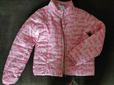 Disney princes girl light weight jacket size 9-10 years