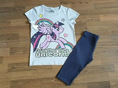 Girls Next  My Little Pony Outfit Set  T-shirt and Leggings 8-9 Years