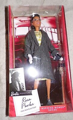 2019 Barbie Signature Inspiring Women Series Rosa Parks in Box Civil Rights Act